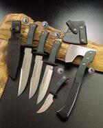MIRAGE-23 KNIFE, MIRAGE-20 KNIFE, MIRAGE-18, PIK-AS KNIFE AND HA-S KNIFE