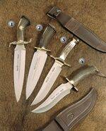 KNIFE REHALERO, KNIFE SERRE�O S, KNIFE ALAMO AND KNIFE APACHE