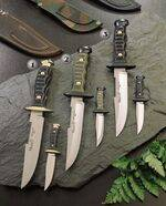 7120-P KNIFE, 7122-P KNIFE AND 7121-P KNIFE