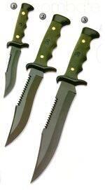 COMBAT KNIVE 3001, COMBAT KNIVE 3002, COMBAT KNIVE 3003 AND COMBAT KNIVE 3004-K