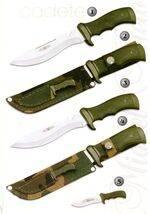 COMBAT KNIVE 9101, KANGAROO KNIVE 9101-K, MOUNT KNIVE 9001, KANGAROO KNIVE 9001-K AND COMBAT KNIVE 9000.