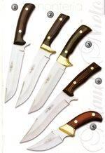 MOUNT KNIVE 8108, MOUNT KNIVE 8009, MOUNT KNIVE 8008, SKINNER KNIVE 8109 AND DESOIL KNIVE 8002