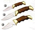 HUNTING POCKET KNIFE 618, HUNTING POCKET KNIFE 619 AND HUNTING POCKET KNIFE 669