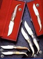 POCKET KNIVE M/6001, POCKET KNIVE M/6001-A, POCKET KNIVE M/6002, POCKET KNIVE M/6002-A, POCKET KNIVE M/6005 AND POCKET KNIVE M/6006