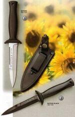 BOTERO WHITE KNIFE AND BOTERO BLACK KNIFE