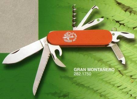 GREAT MOUNTAINEER PENKNIFE WITH CORKSCREW, PLIERS, ETC.