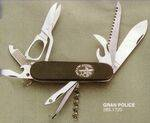 GREAT POLICE PENKNIFE WITH SAW, SCISSORS, ETC.