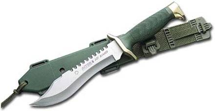 Knife of Aitor Oso Blanco, hunting knife.
