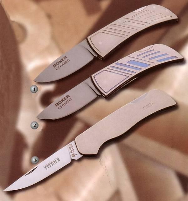 Boker knives ceramic  Boker knives Titan