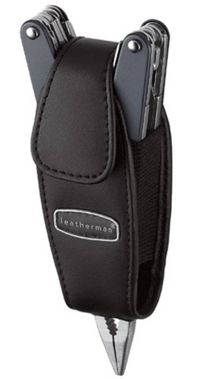 LEATHERMAN BLACK LEATHER SHEAT