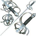 Battle ready rapier swords