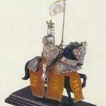 Horsemen figures miniature
