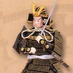 Japanese miniature figures