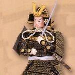Japanese miniature figures