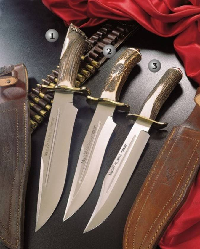 Muela knives made in Spain