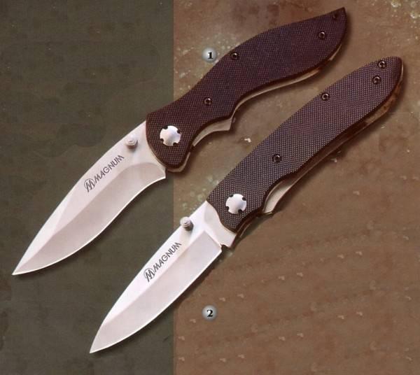 magnum sinus and kosinus knives with liner lock blockade