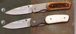 MAGNUM KNIVES BROWN AND WHITE XENON