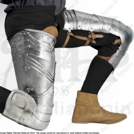 GERMAN LEGS XVth CENTURY FOR MEDIEVAL RECREATION MARSHALL HISTORICAL