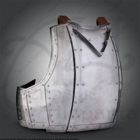 CHURBURG CHESTPLATE S.XIV FOR MEDIEVAL HISTORICAL RECREATION. MARSHALL HISTORICAL.