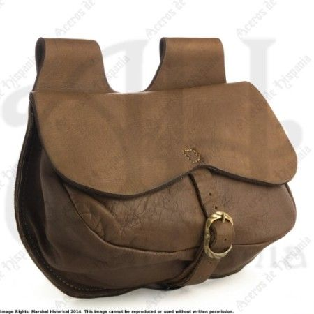 FLAP BAG B FOR MEDIEVAL RECREATION MARSHALL HISTORICAL