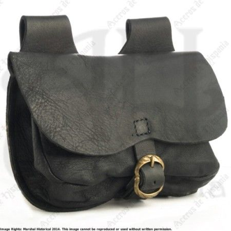 FLAP BAG B MEDIUM FOR MEDIEVAL RECREATION MARSHALL HISTORICAL