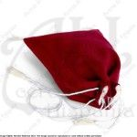 DRAWSTRING POUCH XII-XVth CEN. MEDIEVAL RECREATION MARSHALL HISTORICAL