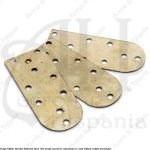 LAMELLAR PLATE BRASS (1 ud.) FOR MEDIEVAL RECREATION MARSHALL HISTORICAL