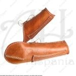 LEATHER ARMS PROTECTION FOR MEDIEVAL RECREATION MARSHALL HISTORICAL
