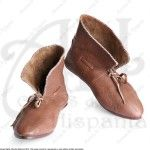 TURNSHOES XIII-XIVth CEN. FOR MEDIEVAL RECREATION MARSHALL HISTORICAL