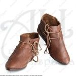 LACED LOWBOOT FOR MEDIEVAL RECREATION MARSHALL HISTORICAL