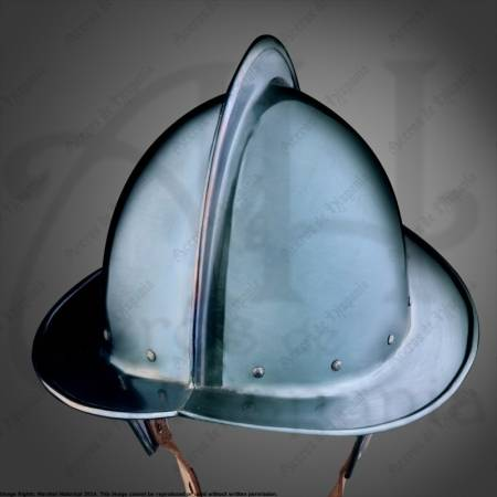 Blued Morion  helmet