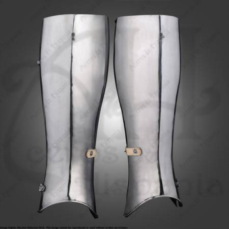 AVANT SHINGUARDS FOR MEDIEVAL RECREATION MARSHALL HISTORICAL