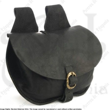 FLAP BAG MEDIUM FOR MEDIEVAL RECREATION MARSHALL HISTORICAL
