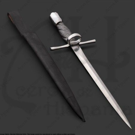 LEFT HAND DAGGER FOR MEDIEVAL RECREATION MARSHALL HISTORICAL