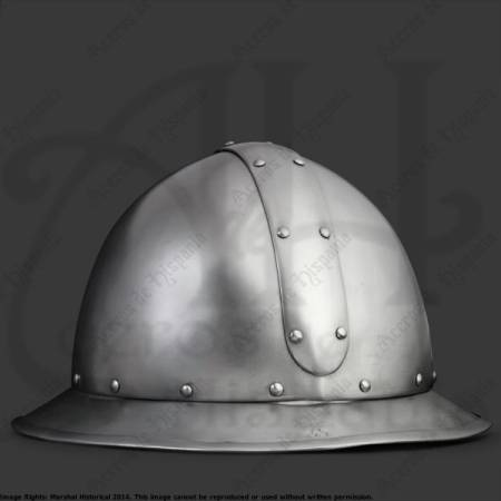 MARSHAL HISTORICAL RECREATION MEDIEVAL REINFORCED KETTLE HAT