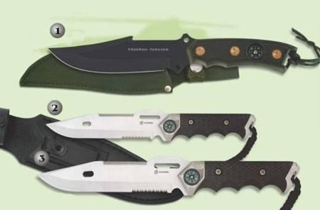 MARTINEZ ALBAINOX TACTICAL KNIVES.