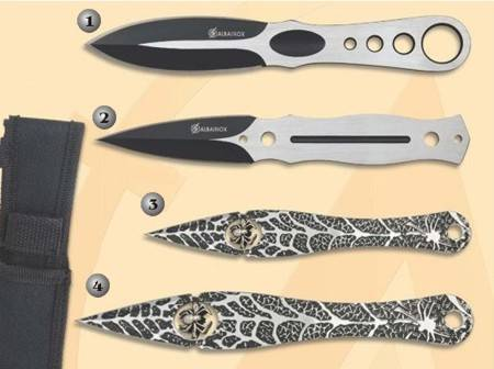 THROWERS KNIVES.