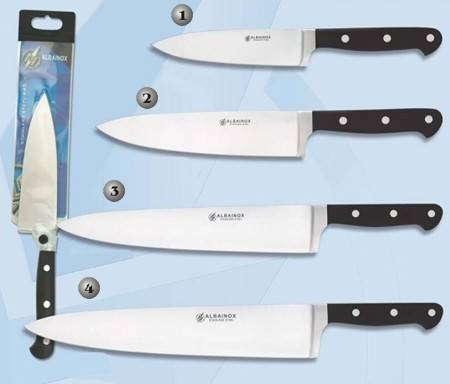PROFESSIONAL CHEF KNIVES.
