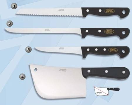 MAM KITCHEN KNIVES.