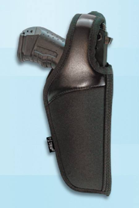 HOLSTER OF LEATHER AND CORDURA FOR PISTOL
