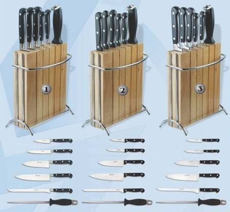 KITCHEN KNIVES SETS.