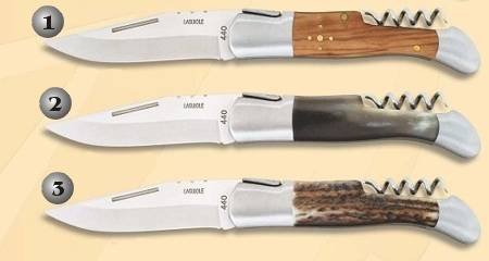 PENKNIVES WITH CORKSCREWS.