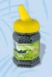 AIRSOFT PVC BLACK PELLETS. HIGH PRECISION