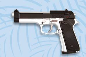 AIRSOFT LIGHTWEIGHT PISTOL. CAL 6 MM
