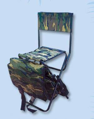 Folding chairs for hunting fishing and camping