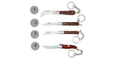 KEY-RING POCKET KNIVES