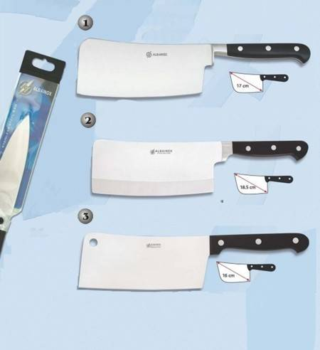 PROFESSIONAL KITCHEN CLEAVER.