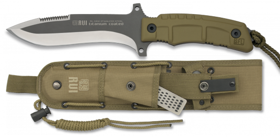 RUI TACTICAL COYOTE KNIFE 31959