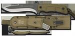 RUI TACTICAL COYOTE KNIFE 31959