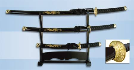 SET OF BLACK SAMURAIS